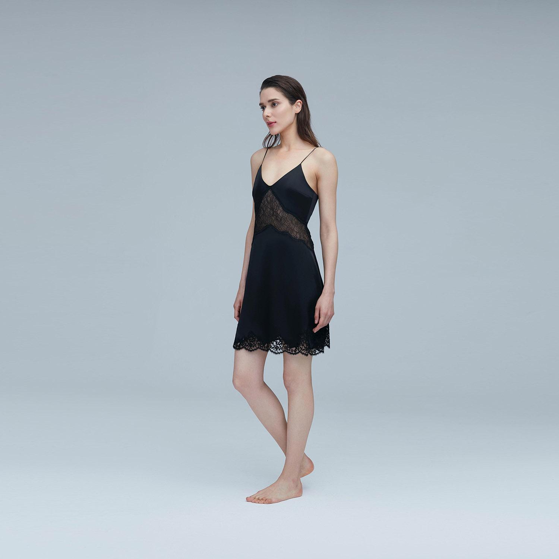 Malena蕾丝吊带连衣裙