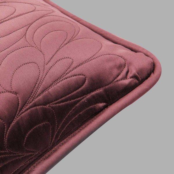 拂叶花型小腰枕