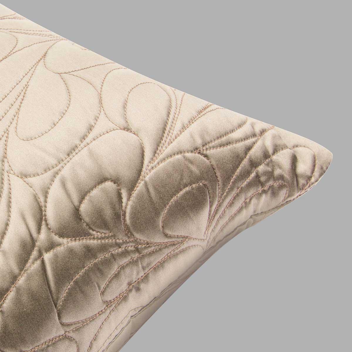 拂叶花型小方枕