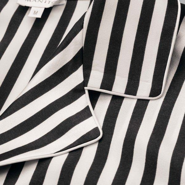 Stripe睡衣短套装