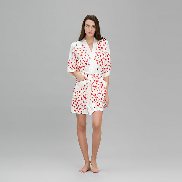 Loved Kimono短睡袍