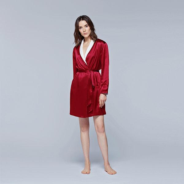 Silk Terry短睡袍