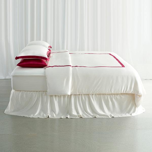 法式镶边床单四件套