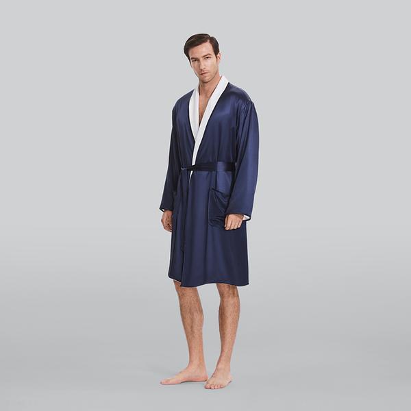 Silk Terry睡袍